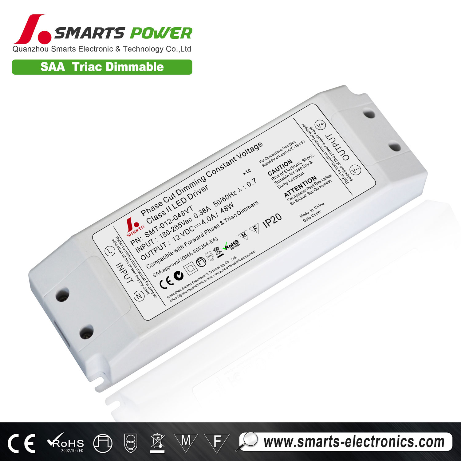 12V 48W DIMMABLE LED DRIVER