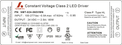 class p led driver
