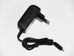 12v 6w power adapter input 100~240v ac