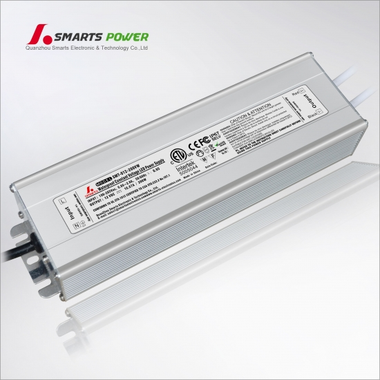 24v 200w tension constante led transformateur