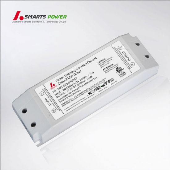 pilote led à courant constant dimmable triac