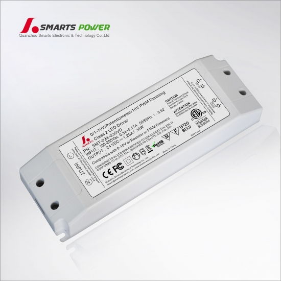 conducteur mené dimmable de tension constante 0-10v
