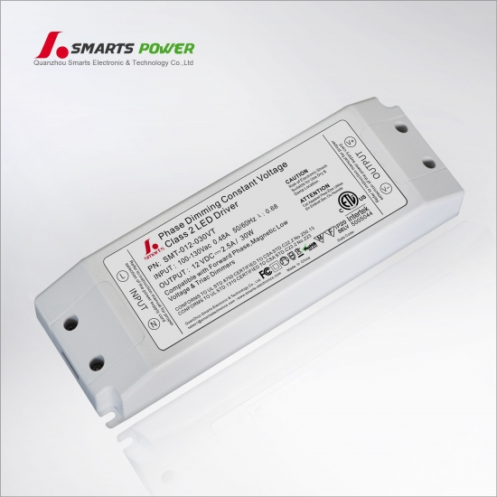 Driver led dimmable triac 12v 30w