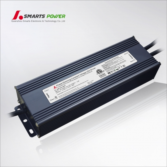 etl fcc 12v 150w constant volatil triac dimmable conduit pilote