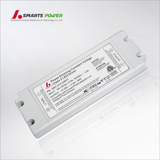 class 2 dimmable triac led driver 12vdc 48w