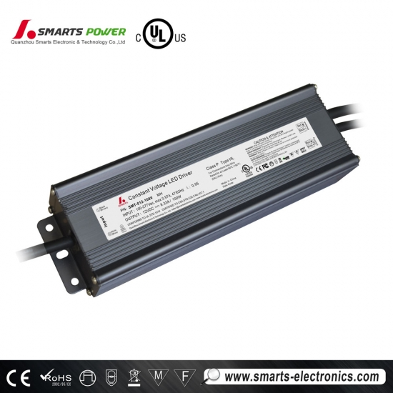 Conducteur mené dimmable de 12vdc 100w dali