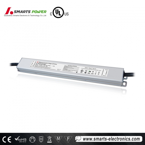 Conducteur mené non-dimmable de taille mince de tension constante de 110-277vac