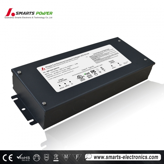 Conducteur de la tension constante dimmable de 110 ~ 277vac trimable