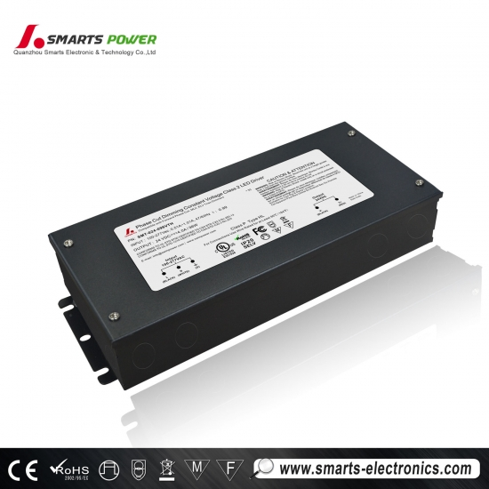 ul coté 277vac dimmable led alimentation bande