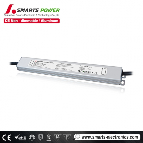 12 volts dc led alimentation , 30w led alimentation , classe 2 led alimentation , meilleure puissance led