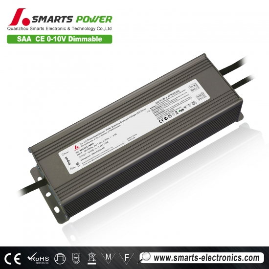 pilote led dimmable 12v 150w