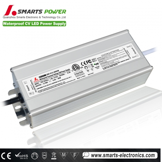 12v 100w tension constante led alimentation