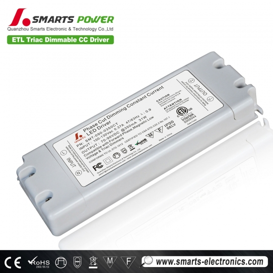 Driver led dimmable triac 350ma