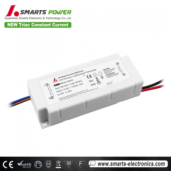 1750mA triac dimming led driver