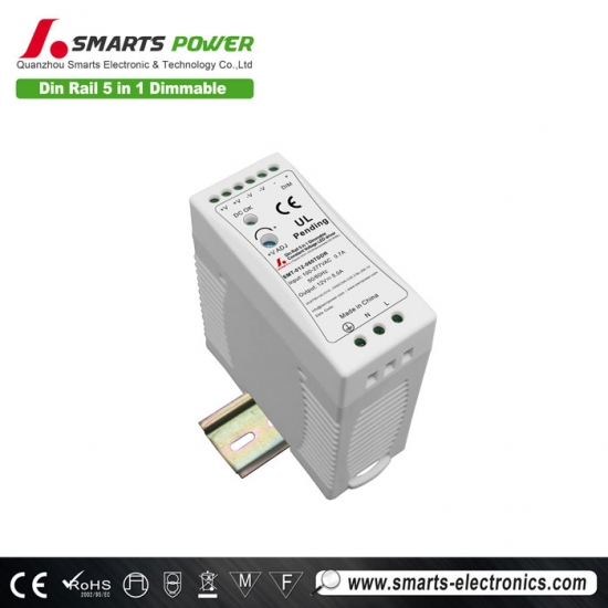 Pilote led dimmable 277vac 12v 60w