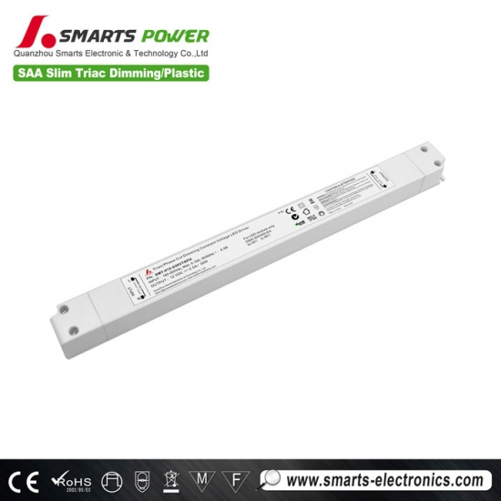 24v 30w slim size triac dimmable led driver
