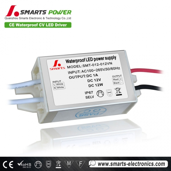 driver led 10 watts 12 volts
