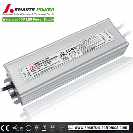 12v 200w tension constante led alimentation
