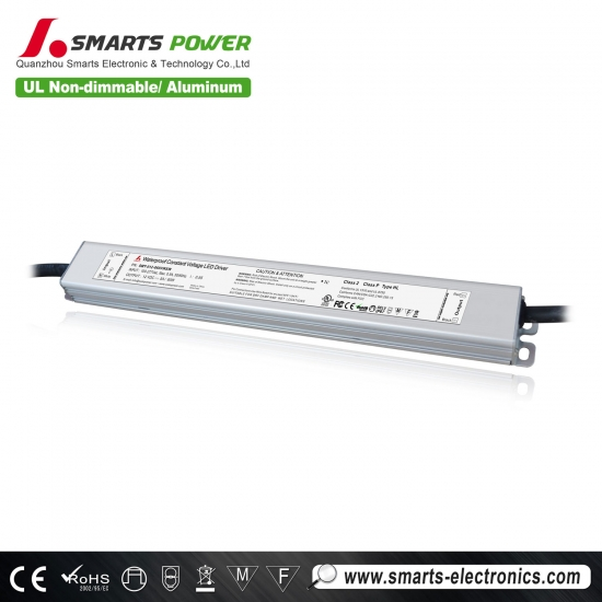12v 60w ul / ce.rohs approbation 277vac pilote led non dimmable