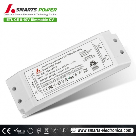 conducteur mené dimmable de la tension constante 0-10v